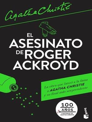 cover image of El asesinato de Roger Ackroyd