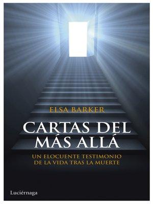 cover image of Cartas del más allá