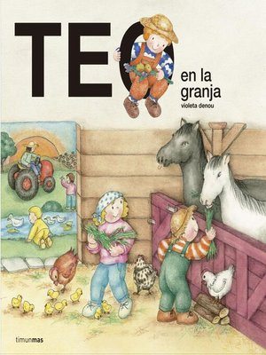 cover image of Teo en la granja