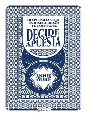 cover image of Decide y apuesta