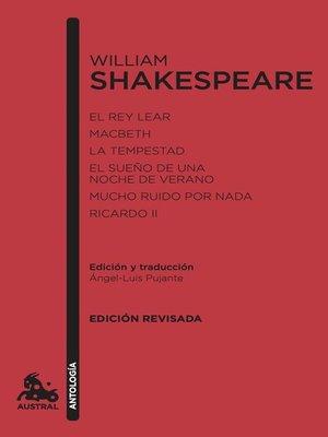cover image of William Shakespeare. Antología