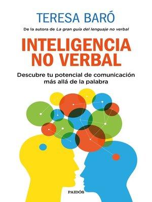 cover image of Inteligencia no verbal