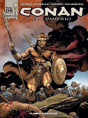 cover image of Conan el cimmerio nº 06/17
