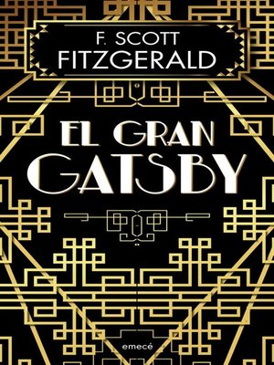 cover image of El gran Gatsby