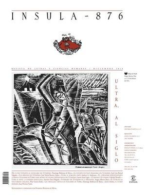 cover image of Ultra, al siglo (Ínsula n° 876, diciembre de 2019)