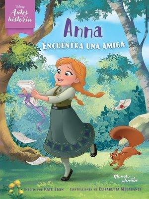 cover image of Anna encuentra una amiga