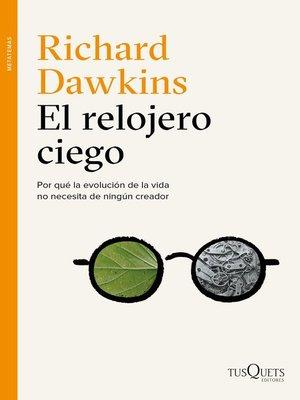 cover image of El relojero ciego