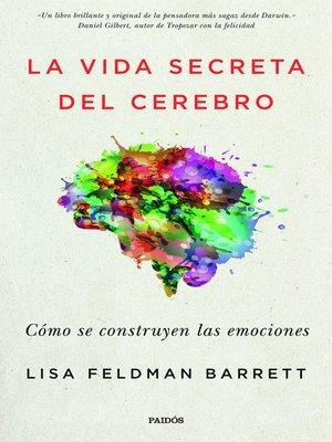 cover image of La vida secreta del cerebro