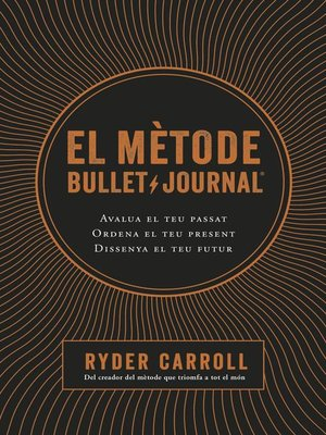 cover image of El mètode Bullet Journal