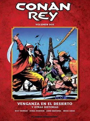 cover image of Conan Rey nº 02/11