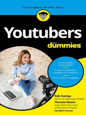 cover image of Youtubers para Dummies