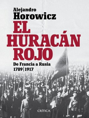 cover image of El huracán rojo