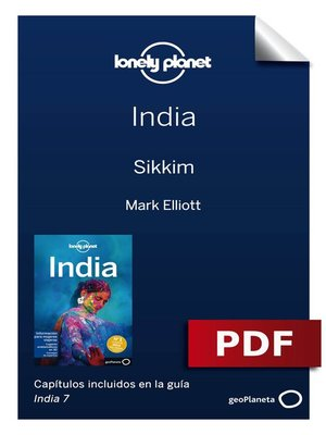 cover image of India 7_13. Sikkim