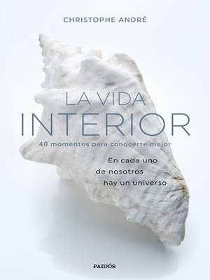 cover image of La vida interior