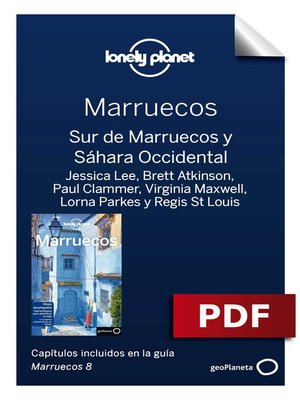 cover image of Marruecos 8. Sur de Marruecos y Sáhara Occidental