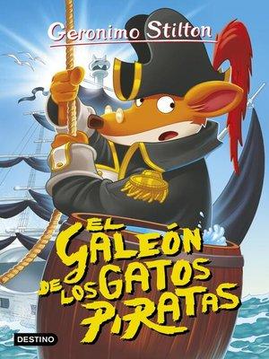 cover image of El galeón de los gatos piratas