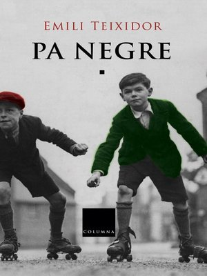 cover image of Pa negre