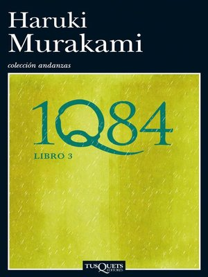 cover image of 1Q84. Libro 3