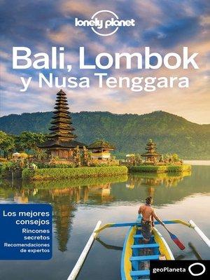 cover image of Bali, Lombok y Nusa Tenggara 2
