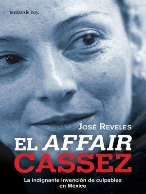 cover image of El affair Cassez