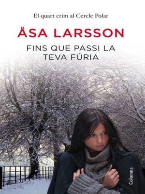 cover image of Fins que passi la teva fúria
