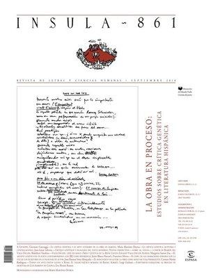 cover image of La obra en proceso