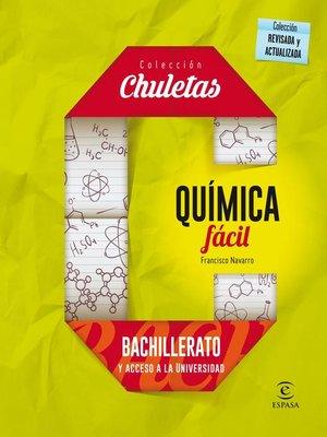 cover image of Química fácil para Bachillerato
