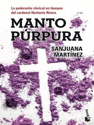 cover image of Manto púrpura