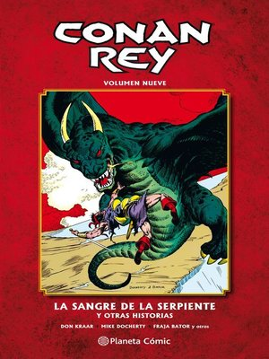 cover image of Conan Rey nº 09/11