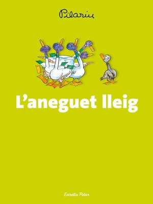 cover image of L'aneguet lleig