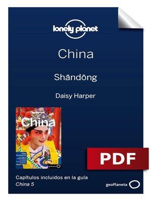 cover image of China 5. Shandong