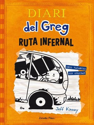 cover image of Ruta infernal: Unes vacances per oblidar