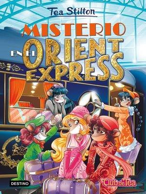 cover image of Misterio en el Orient Express
