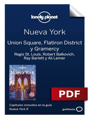 cover image of Nueva York 9_6. Union Square, Flatiron District y Gramercy