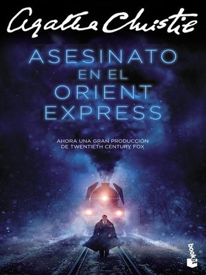 cover image of Asesinato en el Orient Express