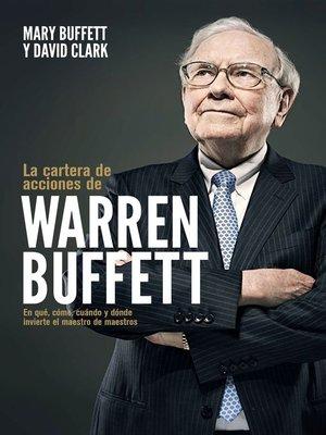 cover image of La cartera de acciones de Warren Buffett