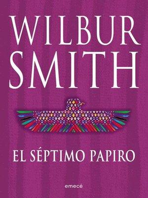 cover image of El séptimo papiro