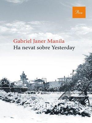 cover image of Ha nevat sobre Yesterday