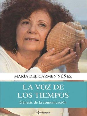 cover image of La voz de los tiempos