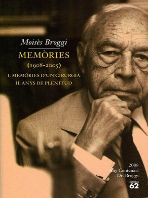 cover image of Memòries (1908-2005).
