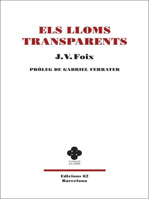 cover image of Els lloms transparents