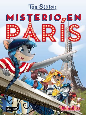 cover image of Misterio en París