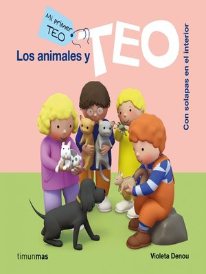 cover image of Los animales y Teo (Ebook interactivo)