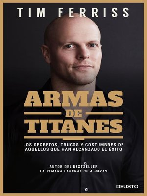 cover image of Armas de titanes