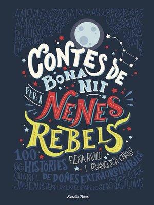 cover image of Contes de bona nit per a nenes rebels