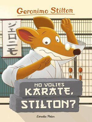 cover image of No volies karate, Stilton?