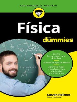 cover image of Física para Dummies