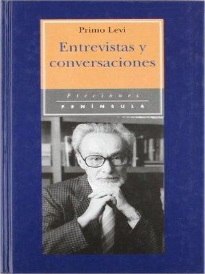 cover image of Entrevistas y conversaciones