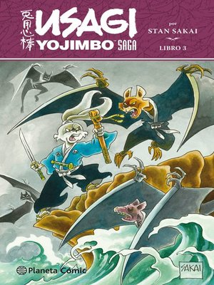 cover image of Usagi Yojimbo Saga nº 03