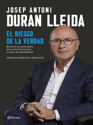 cover image of El riesgo de la verdad